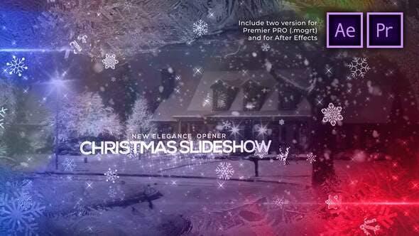 Thumbnail for Presentación de diapositivas de Navidad elegante