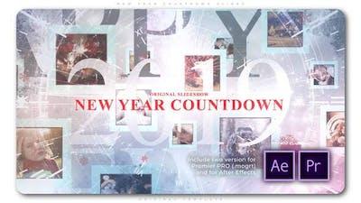 New Year Countdown Slides