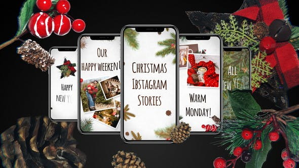 Thumbnail for Christmas Instagram Stories