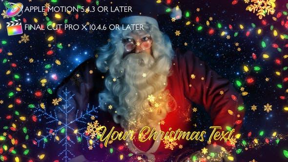Thumbnail for Promo Lumières de Noël - Apple Motion