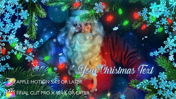 Thumbnail for Winter Christmas Promo - Apple Motion
