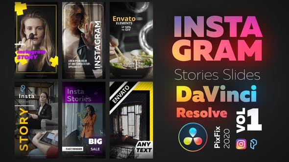 Instagram Stories - DaVinci Resolve