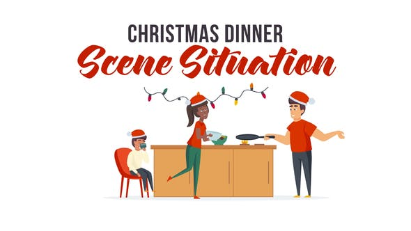 Thumbnail for Christmas dinner - Scene Situation