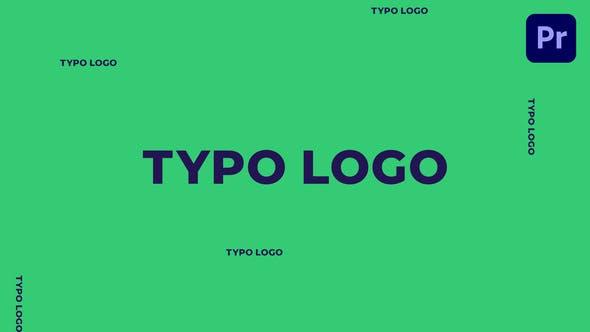 Typo Logo | Mogrt