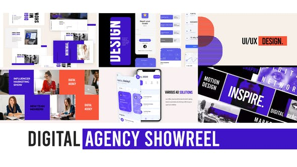 Thumbnail for Digital Agency Web Showreel