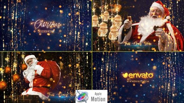 Thumbnail for Diaporama de Noël - Apple Motion