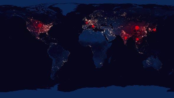 Thumbnail for COVID-19 Coronavirus Global Pandemic Map