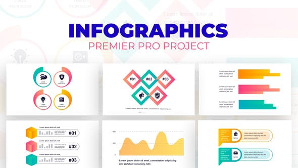 Thumbnail for Corporate Infographics Vol.61 for Premiere Pro
