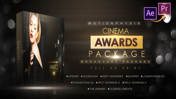 Cinema Awards Package_Premiere PRO