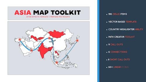 Asia Map Toolkit
