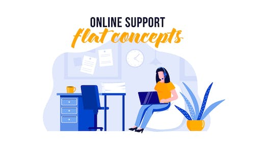 Online support - Flat Concept