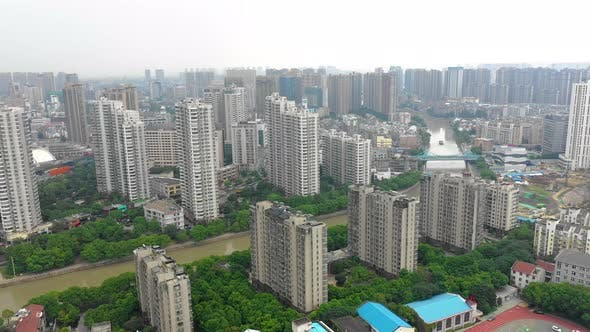 Thumbnail for China City From Above