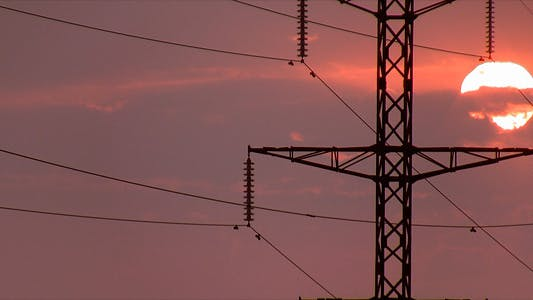 Thumbnail for Power Lines On Sunrise 2