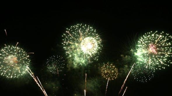 Fireworks Green Theme