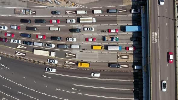 Thumbnail for cross harbor tunnel traffic jam