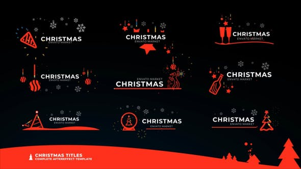 Thumbnail for Christmas Icon Titles