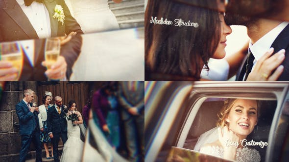 Thumbnail for Presentación de diapositivas de boda Cinemática