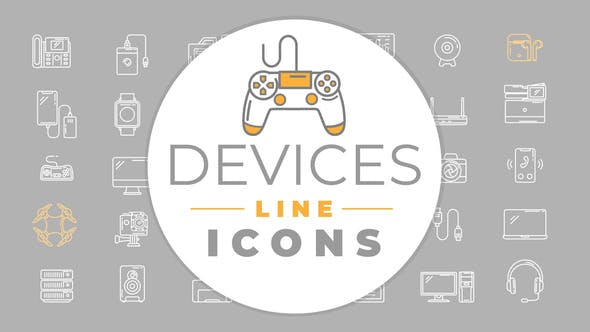 Thumbnail for Devices Icons