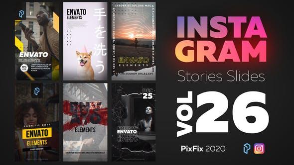 Thumbnail for Insagram Stories Diapositives Vol. 26