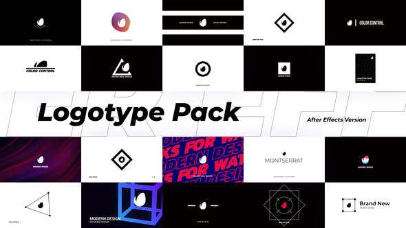 Thumbnail for Abstract Logotype Pack
