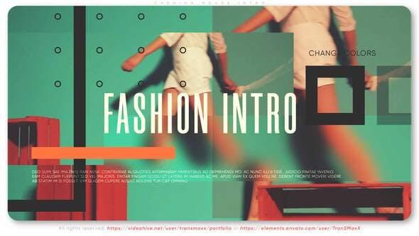 Fashion House Intro