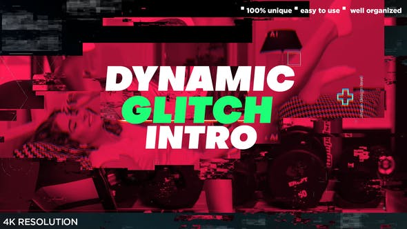 Thumbnail for Dynamic Glitch Powerful Intro