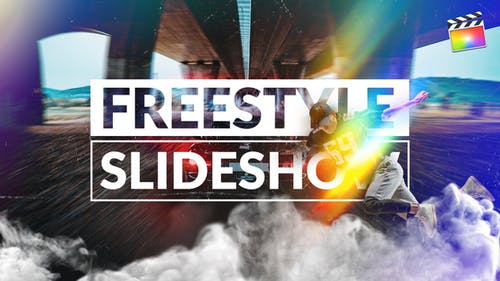 Freestyle Slideshow | For Final Cut & Apple Motion