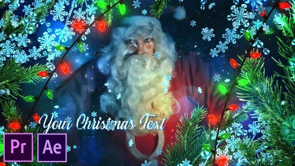 Thumbnail for Promoción de Navidad de Invierno - Premiere Pro