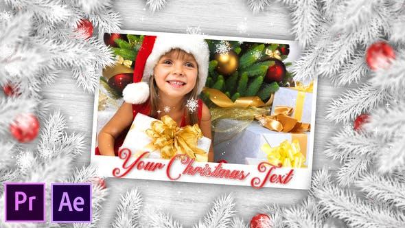 Thumbnail for White Christmas Slideshow - Premiere Pro