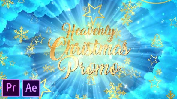 Thumbnail for Heavenly Christmas Promo - Premiere Pro