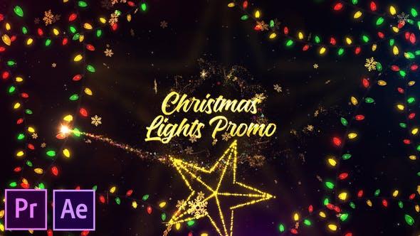 Christmas Lights Promo - Premiere Pro