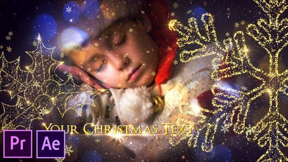 Thumbnail for Christmas Slideshow Promo - Premiere Pro