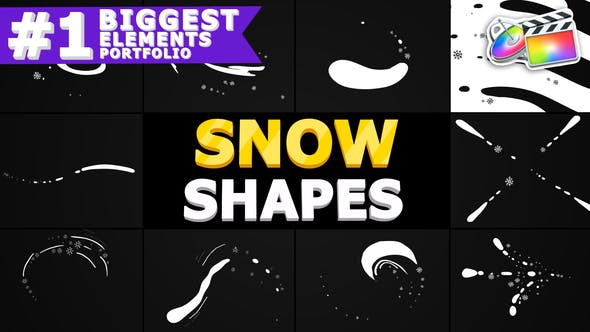 Snow Shapes | FCPX