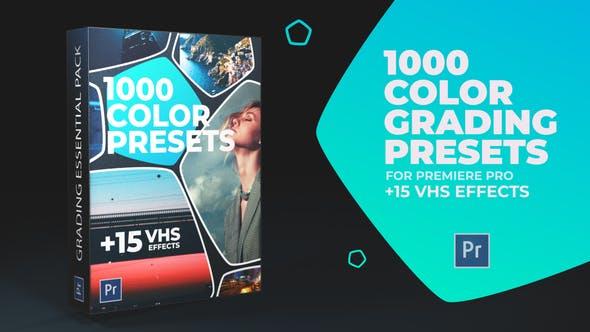 Thumbnail for 1000 Préréglages de couleurs Cinématographique, Effets vidéo VHS, vieux film regarde
