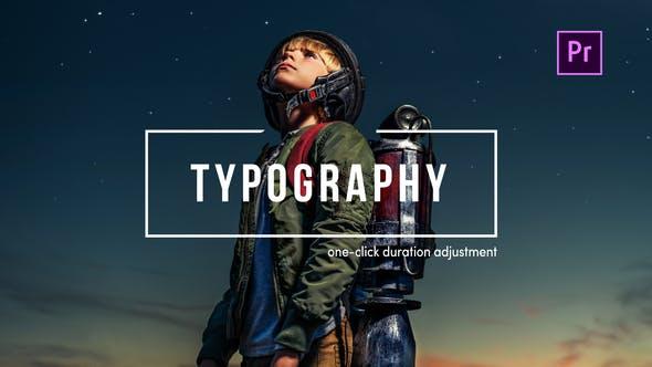TypoFlow | Pour Premiere Pro