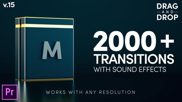 Thumbnail for Modern Transitions | For Premiere PRO