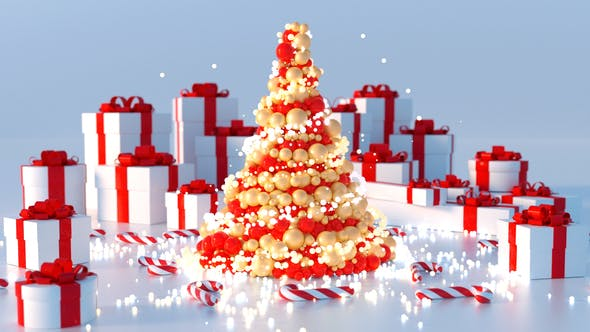 Thumbnail for Abstract Christmas Tree (5 versions)