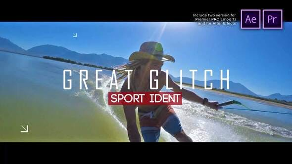 Thumbnail for Diaporama Sport Ident Glitch