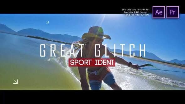 Thumbnail for Sport Ident Glitch Slideshow