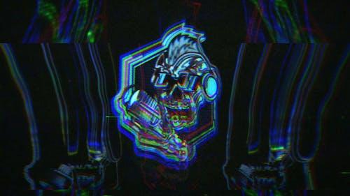 Glitch Ghost Logo