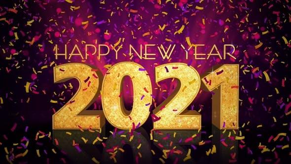 Thumbnail for Frohes neues Jahr 2021 Feier