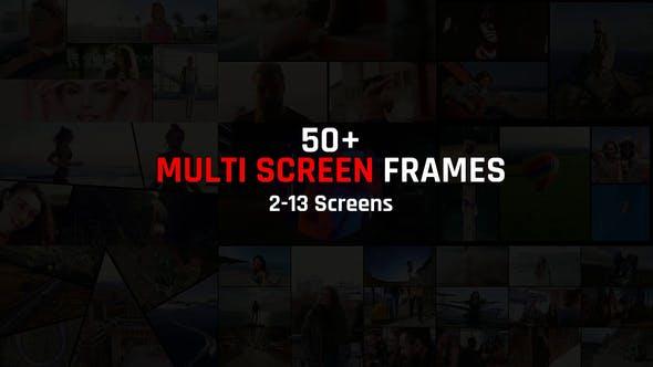 Thumbnail for Paquete de marcos de pantalla múltiple