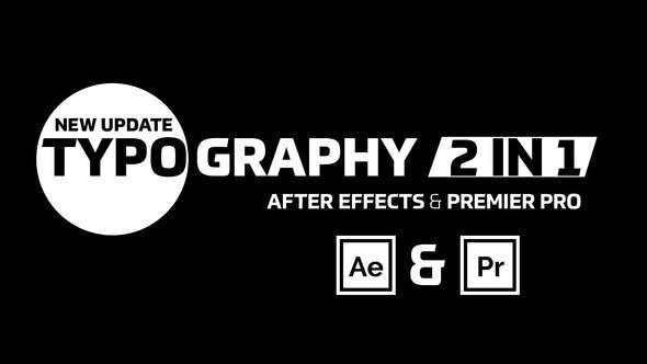Typography Text & Preset
