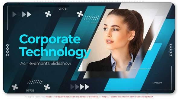Thumbnail for Corporate Technology Achievements. Slideshow