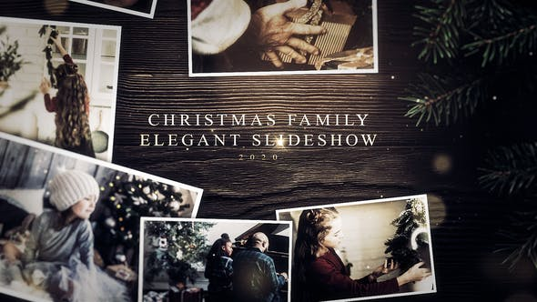 Thumbnail for Familia de Navidad elegante presentación