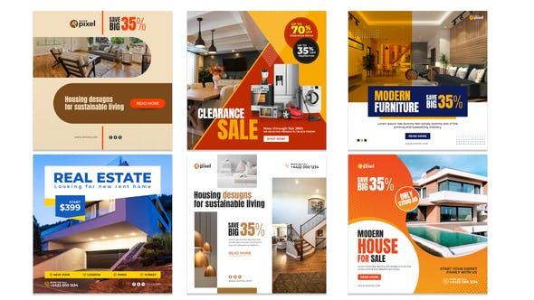 Real Estate Promo Instagram Post V32