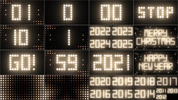 2021 Counter Countdown Lights