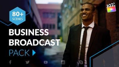 Business Broadcast Pack | Final Cut Pro X