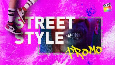 Street Style Promo | For Final Cut & Apple Motion