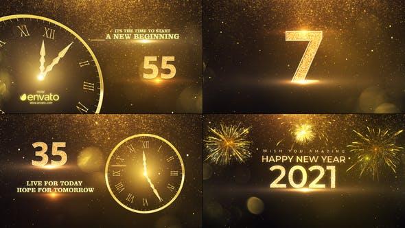 Thumbnail for Cuenta regresiva de Año Nuevo 2021